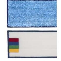 FRANGE Dicke blaue Mikrofaser für Klettverschluss 40 cm
