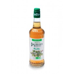 ORGANIC SYRUP of mint Bigallet 70 cl