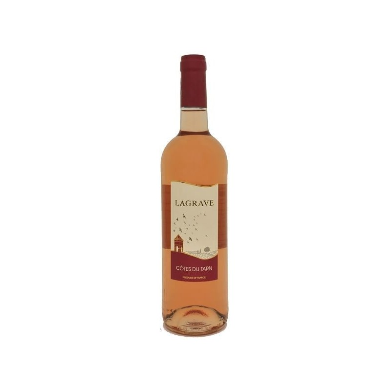 Terroir of Lagrave COTES OF TARN Rosé wine IGP 75 cl