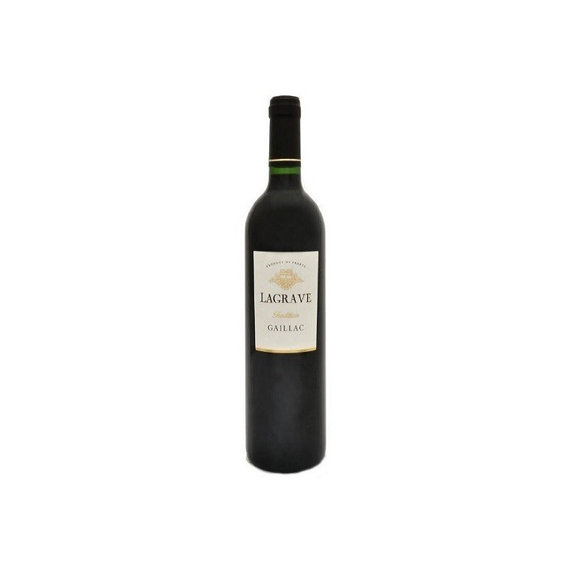 Terroir of Lagrave GAILLAC Tradition Red wine AOC 50 cl
