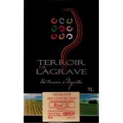Terroir von Lagrave COTES VON TARN Roséwein VDP Weinbrunnen BIB 5 L