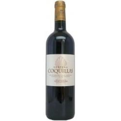 Château Coquillas PESSAC LEOGNAN Vino rosso DOP 75 cl