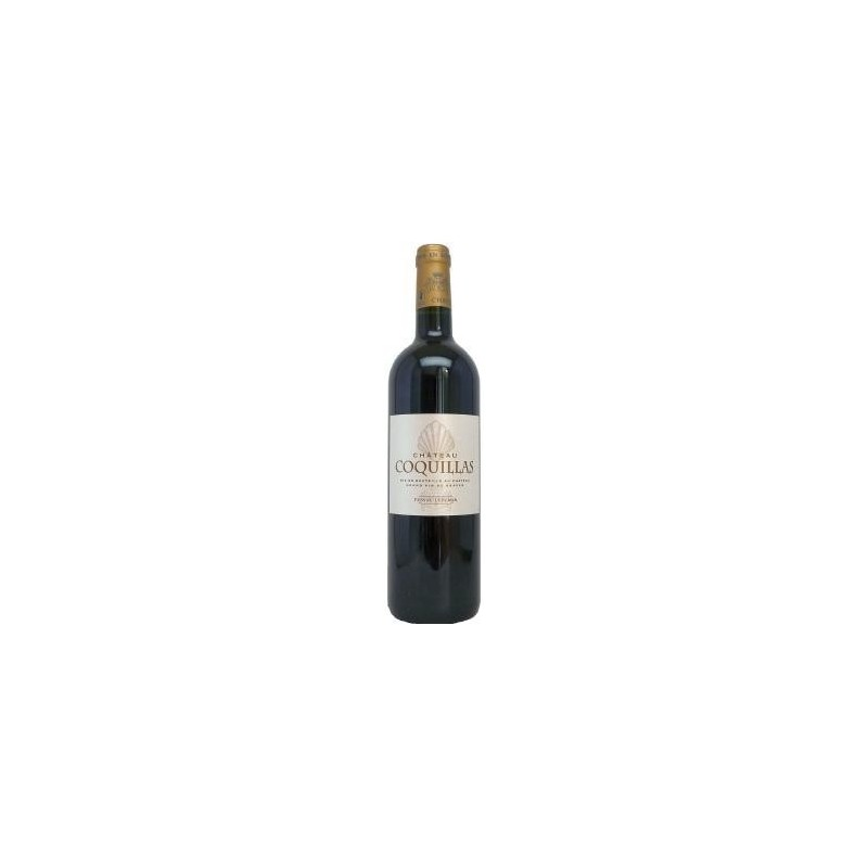 Château Coquillas PESSAC LEOGNAN Red wine PDO 75 cl