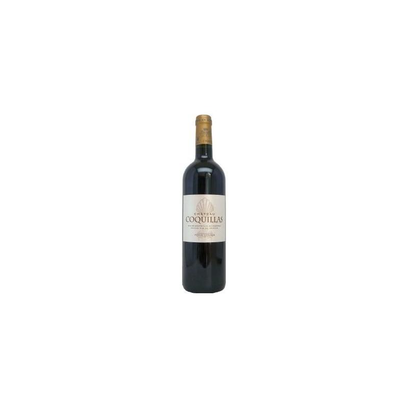 Château Coquillas PESSAC LEOGNAN Vin Rouge AOP 75 cl