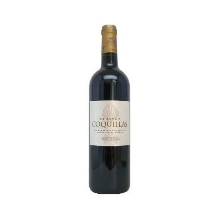 Château Coquillas PESSAC LEOGNAN Vino tinto DOP 75 cl