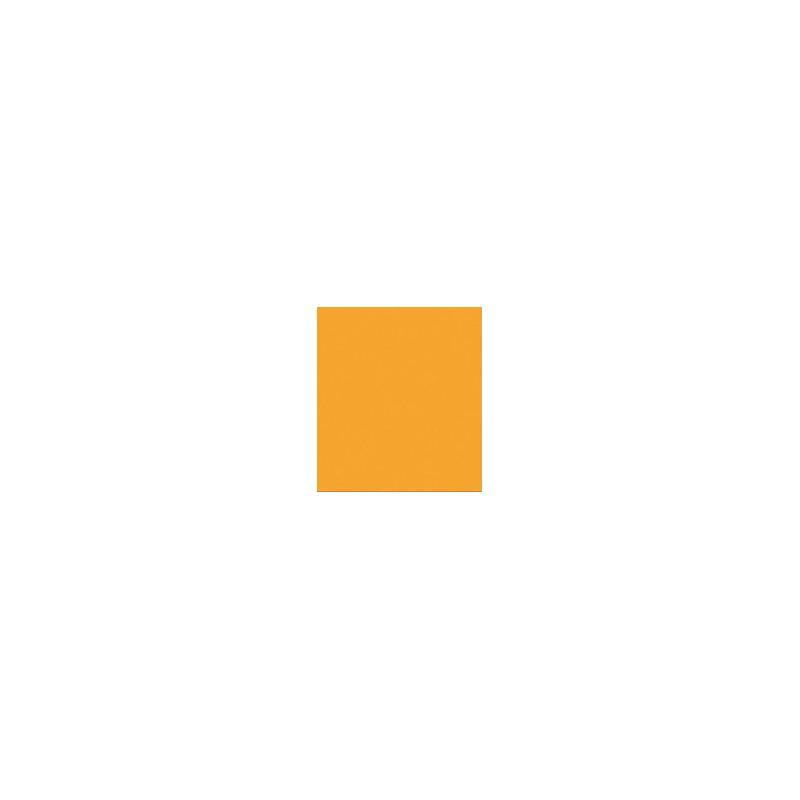 SERVIETTE MANDARINE en papier jetable 38 x 38 cm Sun Ouate unie - le sachet de 40