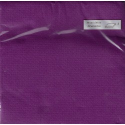 PRUNE TOWEL in disposable paper 38 x 38 cm Sun Ouate plain - the bag of 40
