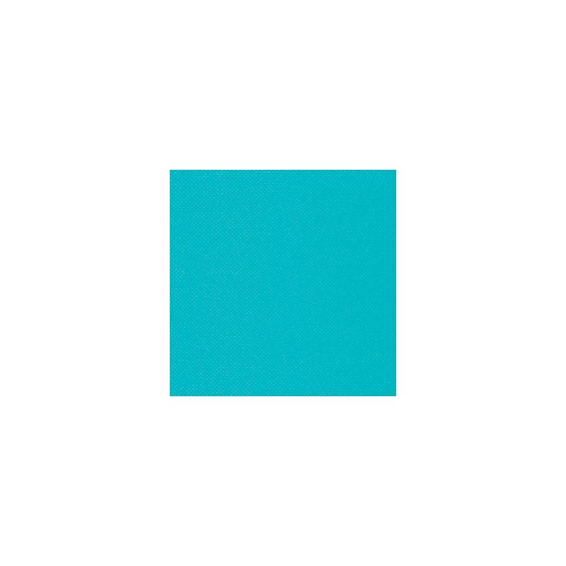 BLUE TURQUOISE TOWEL in disposable paper 38 x 38 cm Sun Ouat plain - the bag of 40
