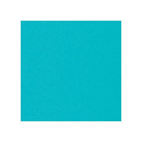 SERVIETTE BLEUE TURQUOISE en papier jetable 38 x 38 cm Sun Ouate unie - le sachet de 40
