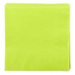 ANSI ASCIUGAMANO VERDE in carta usa e getta 38 x 38 cm 2 veli - la borsa da 50 pezzi