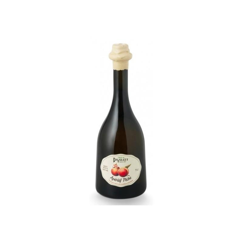 APERITIF -Vin et Pêche- Bigallet 16° 75 cl