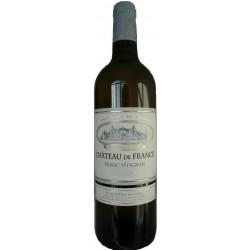 Château de France PESSAC LEOGNAN Vino bianco DOP 75 cl