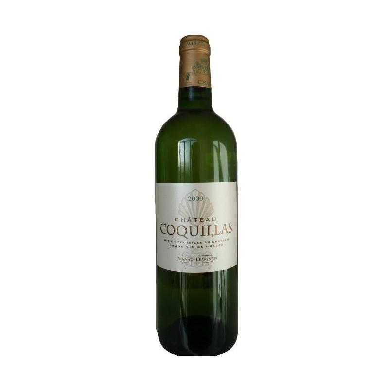 Château Coquillas PESSAC LEOGNAN White Wine PDO 75 cl