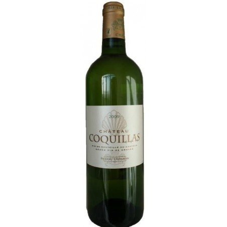 Château Coquillas PESSAC LEOGNAN Vin Blanc AOP 75 cl