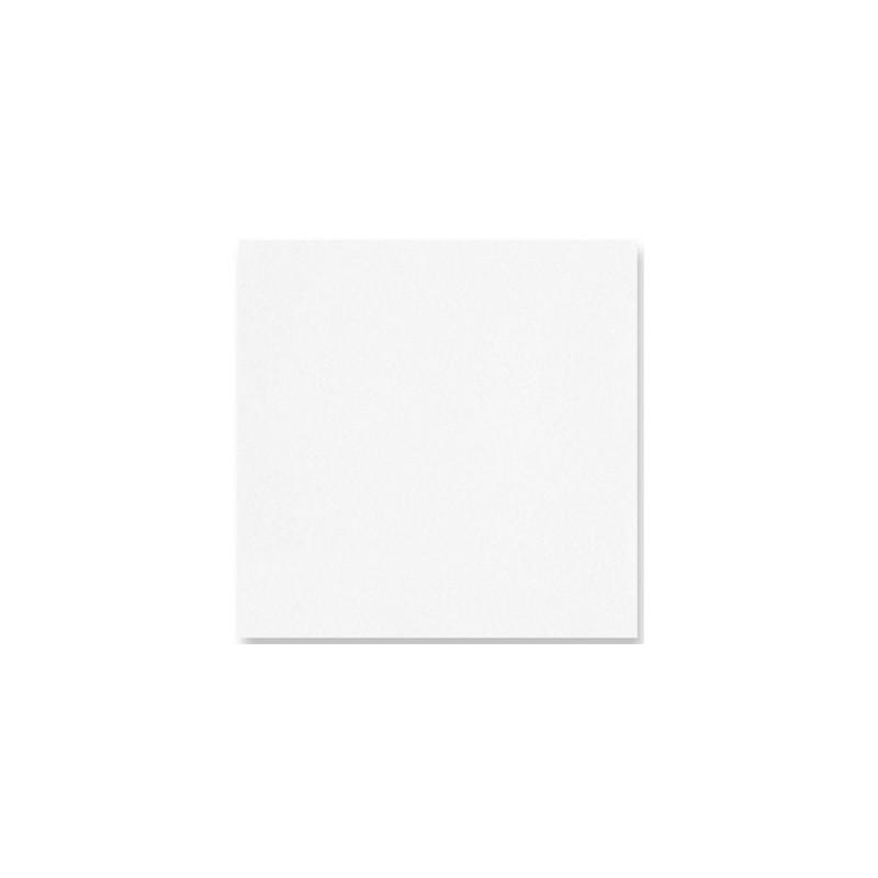 SERVIETTE BLANCHE en papier jetable 40 x 40 cm non-tissé - le sachet de 50