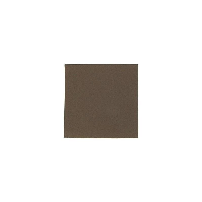 SERVIETTE CHOCOLAT en papier jetable 40 x 40 cm non-tissé - le sachet de 50