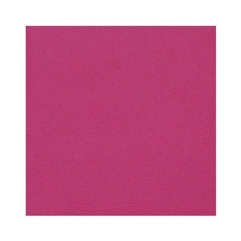 TOALLA FUCSIA en papel desechable 40 x 40 cm no tejido - la bolsa de 50