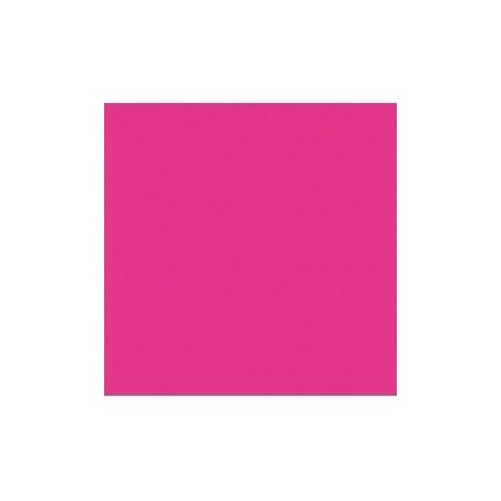 SERVIETTE ROSE FUCHSIA en papier jetable 38 x 38 cm Sun Ouate unie - le sachet de 40
