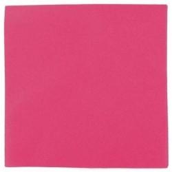 FUCHSIA cocktail napkin disposable paper 20 x 20 cm 2-ply double point- 100 sachet