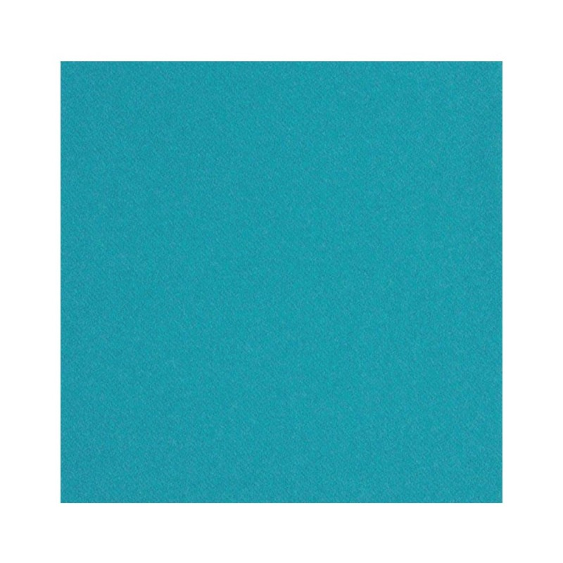 TOALLA TURQUESA en papel desechable 40 x 40 cm no tejido - la bolsa de 50
