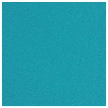TOVAGLIOLO TURCHESE in carta usa e getta 40 x 40 cm non tessuto - la borsa da 50 pezzi