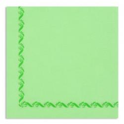 TUCH ANISE Grenze mit Einweg-Papier 38x38 Cotton Sun - Beutel mit 50
