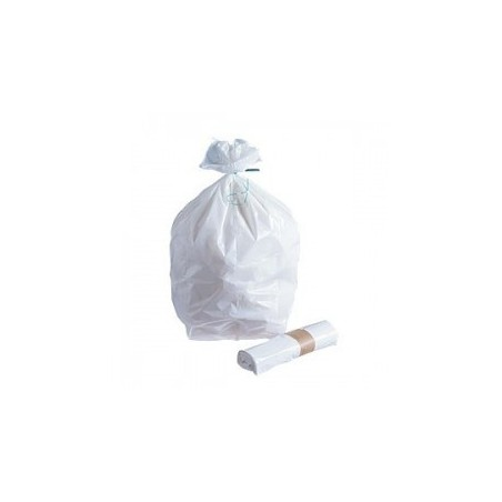 "GARBAGE BAG ""Maxibel"" -White 11 μ 20 L - The roller 50 bags"