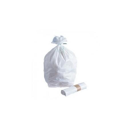 """SAC POUBELLE """"Maxibel"""" -Blanc 11 µ 20 L- le rouleau 50 sacs"""