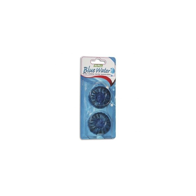 "BLOCK FLUSH ""Air Plus"" water-soluble blue-water-bag 2"