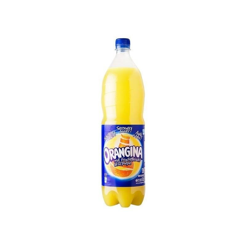 ORANGINA en botella de plástico de 1.5 L