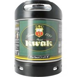 Bier KWAK Ambrée Belge 8,4 ° Barrel 6 L für Philips Perfect Draft Maschine (7,10 EUR Set im Preis enthalten)