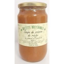Espelette Pfeffer Fischsuppe - 800 g Glas