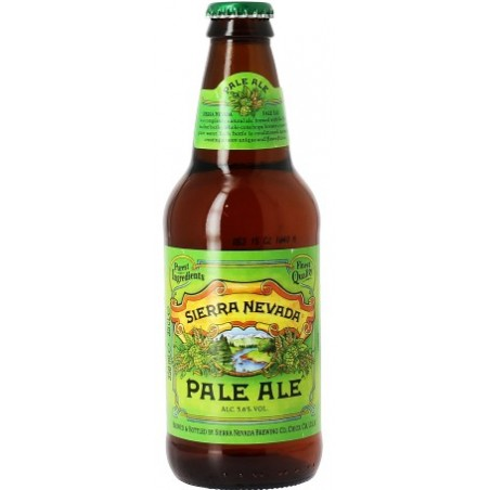 Beer SIERRA NEVADA Pale Ale Amber USA 5.6 ° 35.5 cl