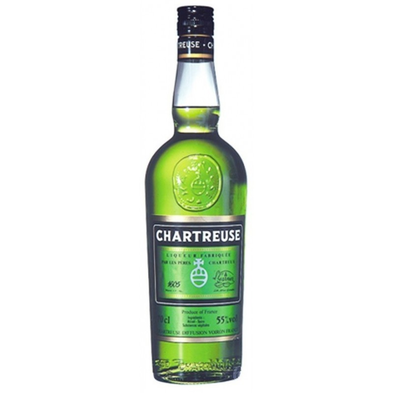 EAU DE VIE de Chartreuse Verte 55° 70 cl