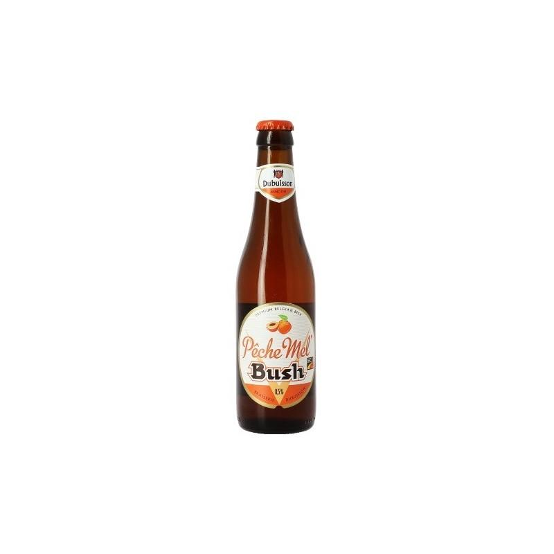 Bière BUSH Pêche Mel Bush Ambrée Belge 8.5° 33 cl