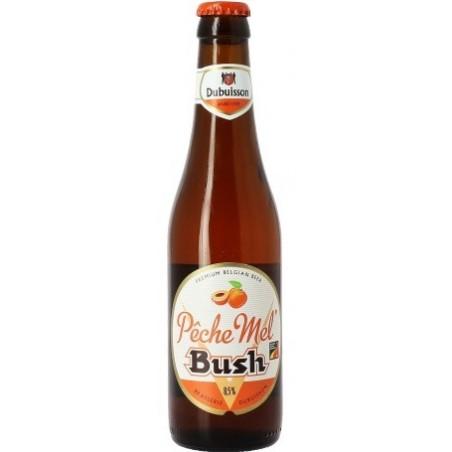 Cerveza BUSH Pesca Mel Bush ámbar Belga 8.5 ° 33 cl