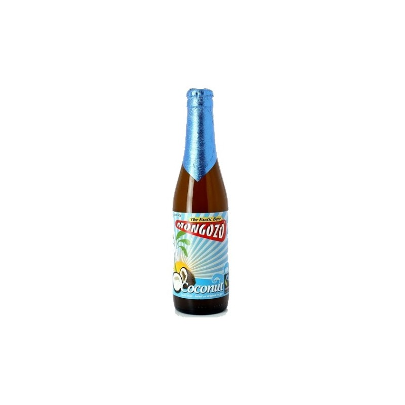 MONGOZO Beer Coconut Belgian White 3.6 ° 33 cl
