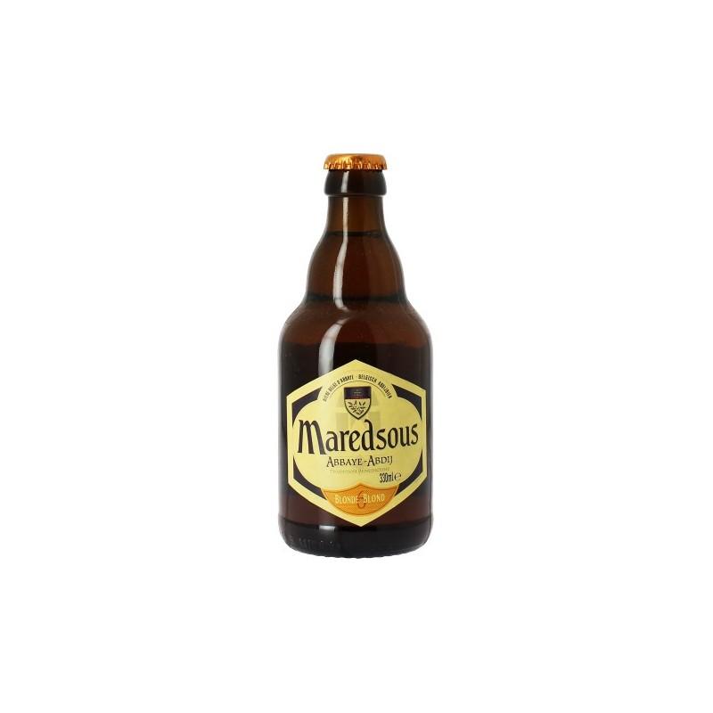 Bière MAREDSOUS 6 Blonde Belge 6° 33 cl