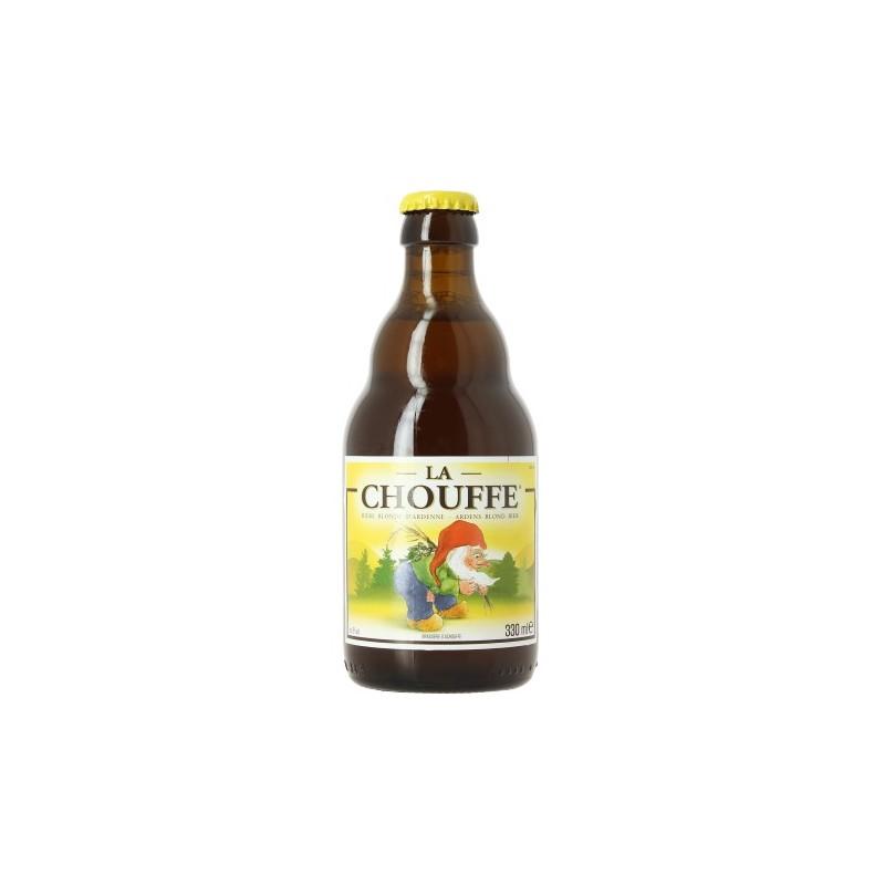 Bière CHOUFFE Blonde Belge 8° 33 cl