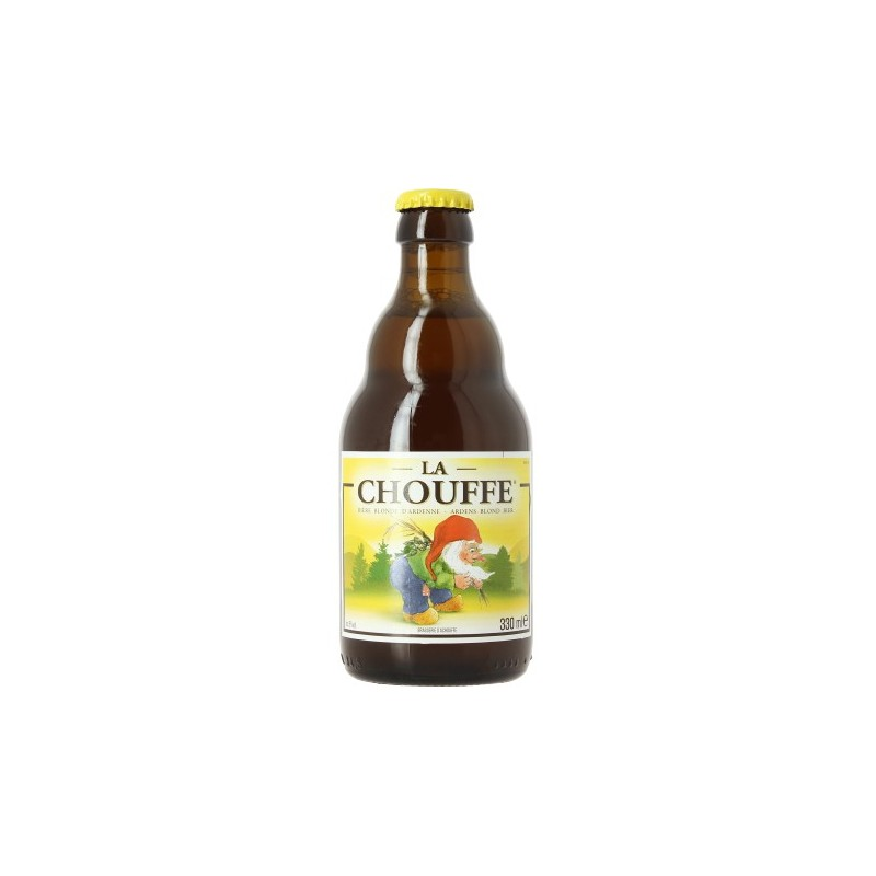 CHOUFFE beer Blonde Belgian 8 ° 33 cl