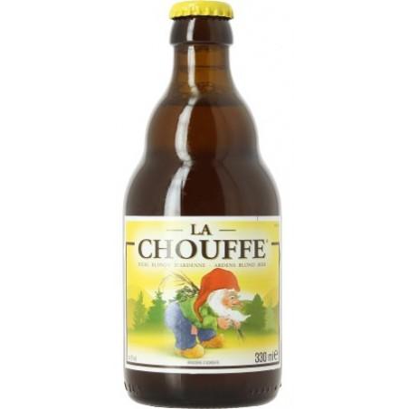 Cerveza CHOUFFE Rubia belga 8 ° 33 cl