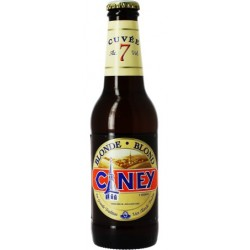 CINEY Bier Blond Belgisch 7 ° 25 cl
