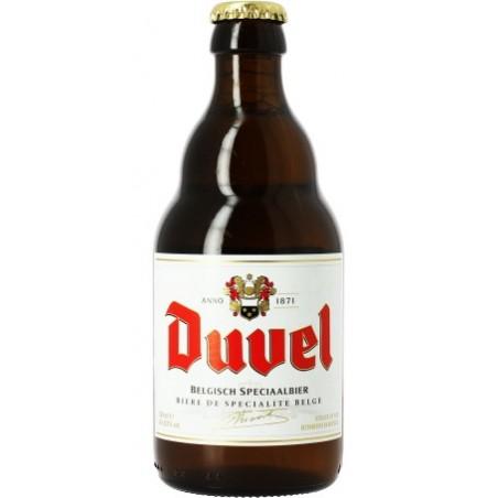 Cerveza DUVEL Rubia belga 8.5 ° 33 cl
