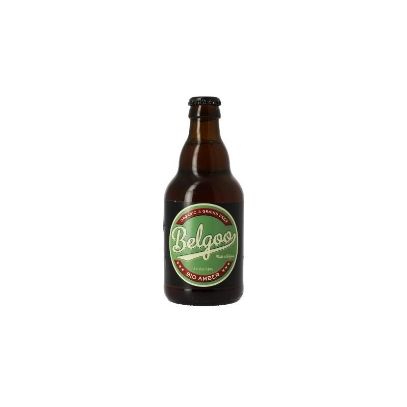 Cerveza BELGOO BIO Belga Ambrée 7.8 ° 33 cl