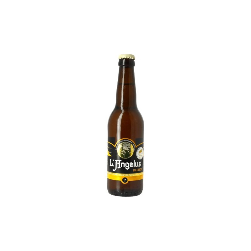 ANGELUS Beer French Blonde 7 ° 33 cl