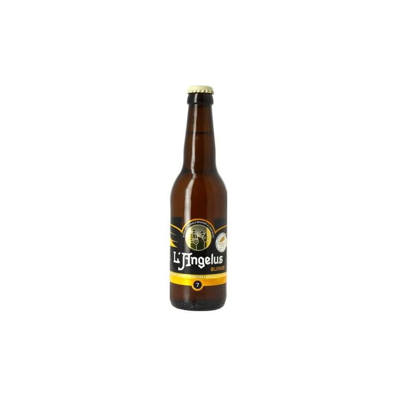 Bière ANGELUS Blonde Française 7° 33 cl
