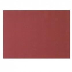 Mesa de Burdeos engastada en papel desechable en relieve de 30x40 cm - el 1000