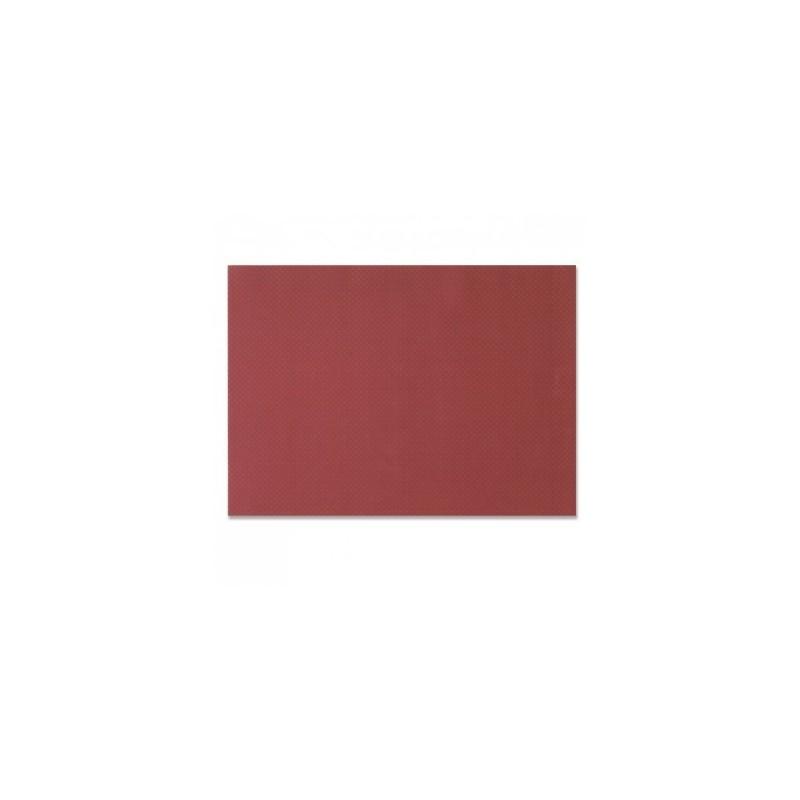 Tavolo bordeaux in carta monouso goffrato 30x40 cm - il 1000