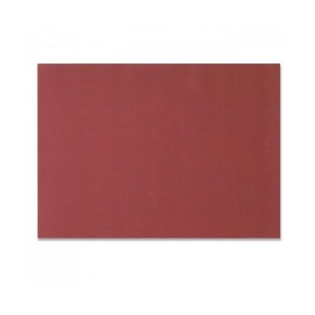 Set de Table bordeaux en papier jetable gaufré 30x40 cm - les 1000