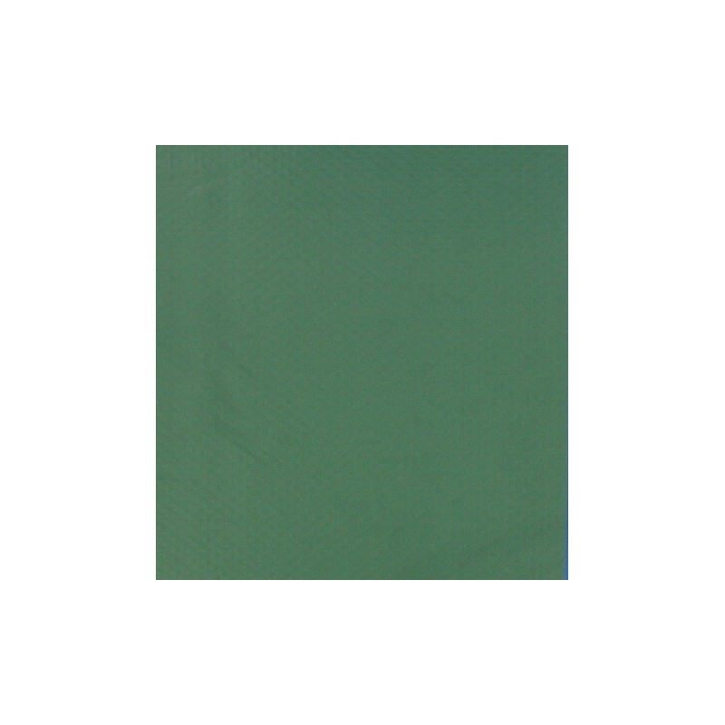 Dark green embossed disposable paper table 30x40 cm - 1000's